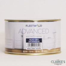 Fleetwood Advanced Quick Dry Satinwood White 500ml