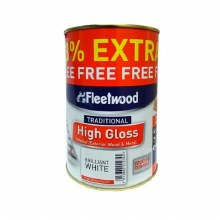 Fleetwood High Gloss Paint 750ml + 33% free