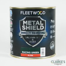 Fleetwood Metal Shield Paint 1 L Racing Green Gloss