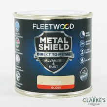 Fleetwood Metal Shield Paint 250ml Gold Gloss