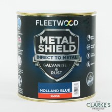 Fleetwood Metal Shield Paint 1 L Holland Blue Gloss