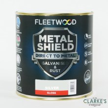 Fleetwood Metal Shield Paint 2.5 L Silver Gloss
