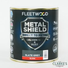 Fleetwood Metal Shield Paint 1 L Slate Grey Gloss