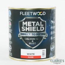 Fleetwood Metal Shield Paint 1 L White Gloss