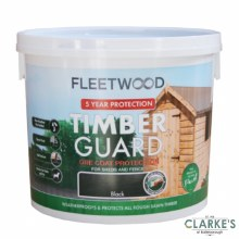 Fleetwood Timber Guard Black 5 Litre