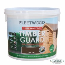 Fleetwood Timber Guard Dark Oak 5 Litre