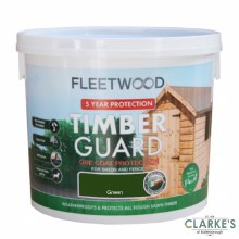 Fleetwood Timber Guard Green 5 Litre