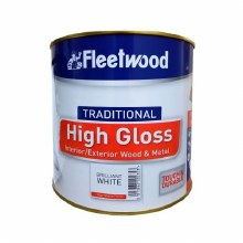 Fleetwood Traditional High Gloss Brilliant White 2.5ltr