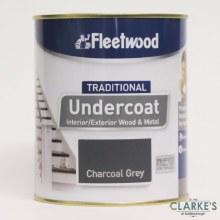 Fleetwood Traditional Undercoat Charcoal Grey 750ml
