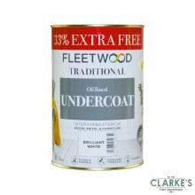 Fleetwood Undercoat White 750ml + 33%