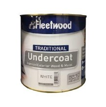 Fleetwood Traditional Undercoat White 2.5ltr