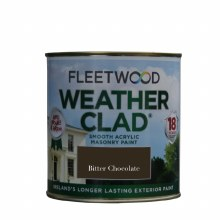 Fleetwood Weather Clad Bitter Chocolate 1 Ltr