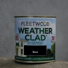 Fleetwood Weather Clad Black 1 Ltr