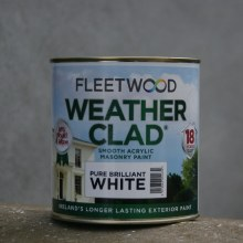 Fleetwood Weather Clad Brilliant White 1 Ltr