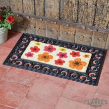 Flower Power - Door Mat Insert ( Frame not included )