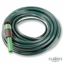 Urban Living - Garden Hose 15 Meter with Nozzle and Connectors