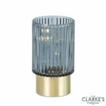 Modern Spirit - Mini LED Battery Operated Lamp Blue