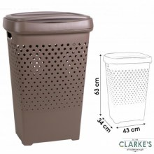 Urban Living - Large Laundry Basket with Lid