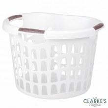 Urban Living - Laundry Laundry Basket White