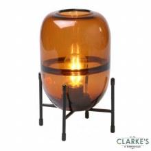 Modern Spirit - LED Battery Operated Filament Lamp Orange