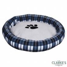 Dogi - Round Dog Bed 62cm Blue