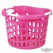 Urban Living - Laundry Laundry Basket Pink