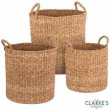 Natural Living - Seagrass Basket Medium