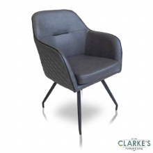 Franco soft PU dining armchair