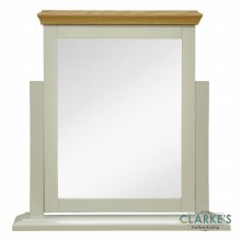 French Oak Vanity Mirror