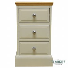 French Oak Small Bedside Locker