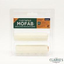 "Fleetwood MOFAB Mohair Mini Roller Sleeve Set 4"""