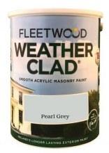 Fleetwood Weather Clad Pearl Grey 5 Ltr
