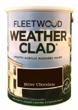 Fleetwood Weather Clad BItter Chocolate 5 Ltr