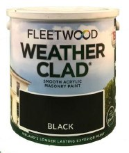 Fleetwood Weather Clad Black 2.5 Ltr