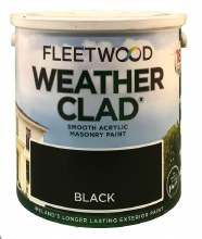 Fleetwood Weather Clad Black 2.5 Ltr