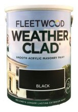 Fleetwood Weather Clad Black 5 Ltr