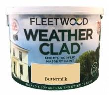 Fleetwood Weather Clad Buttermilk 10 Ltr
