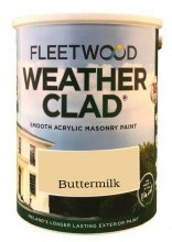 Fleetwood Weather Clad Buttermilk 5 Ltr