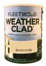 Fleetwood Weather Clad Buttermilk 5 Ltr