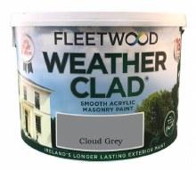 Fleetwood Weather Clad Cloud Grey 10 Ltr