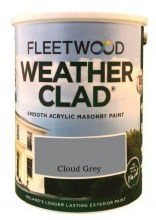 Fleetwood Weather Clad Cloud Grey 5 Ltr