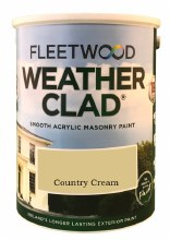 Fleetwood Weather Clad Country Cream 5 Ltr