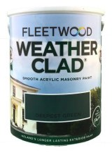 Fleetwood Weather Clad Deepest Green 5 Ltr