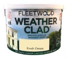 Fleetwood Weather Clad Fresh Cream 10 Ltr