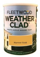 Fleetwood Weather Clad Harvest Gold 5 Ltr
