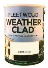 Fleetwood Weather Clad Linen Mist 5 Ltr