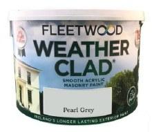 Fleetwood Weather Clad Pearl Grey 10 Ltr