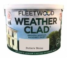 Fleetwood Weather Clad Potters Stone 10 Ltr