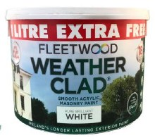 Fleetwood Weather Clad White 10 Ltr