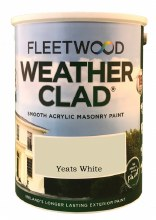 Fleetwood Weather Clad Yeats White 5 Ltr